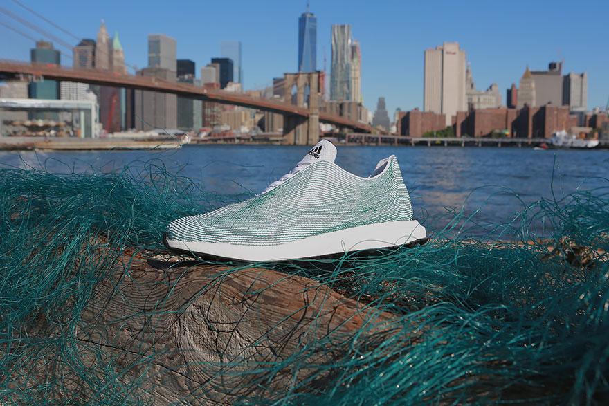recycled fish net ocean trash sneakers adidas 6