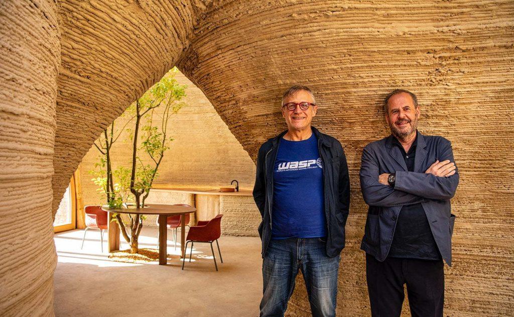 3D Baskı Evler: Mario Cucinella Architects & WASP