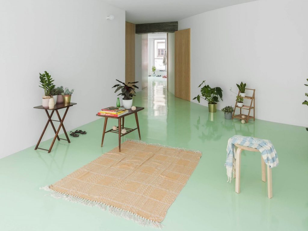 Apartment on a mint floor Fala