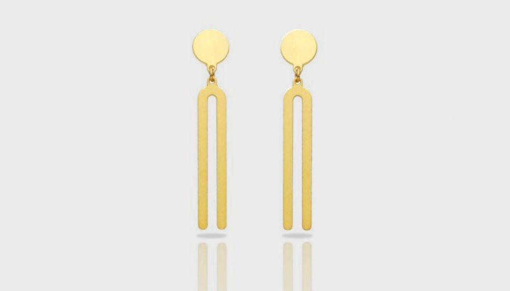 ras earring golden diapason arch design