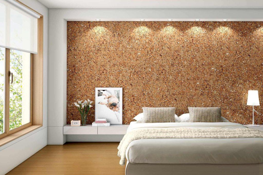 cork wall bedroom 1024x683 1
